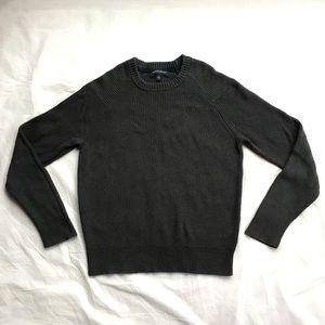 BANANA REPUBLIC Moss/Grey Sweater Small Preowned